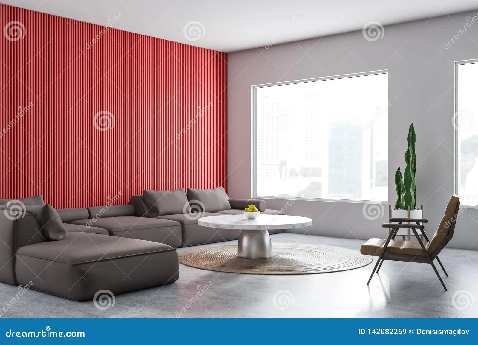Salon Blanc Et Rouge