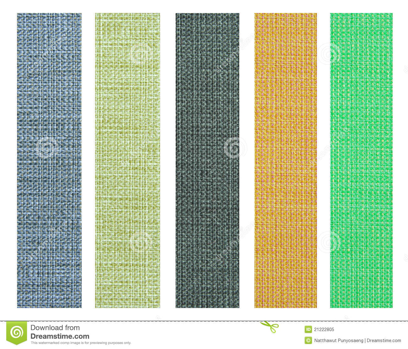 Sofa Fabric Samples Color Fabric Texture Sample For Interior Design Stock Image