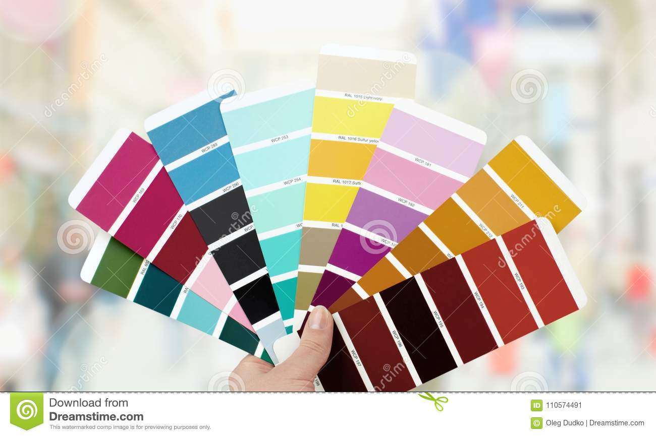 Ral Cmyk Color Swatch Stock Image Image Of Chart Image Colored 110574491
