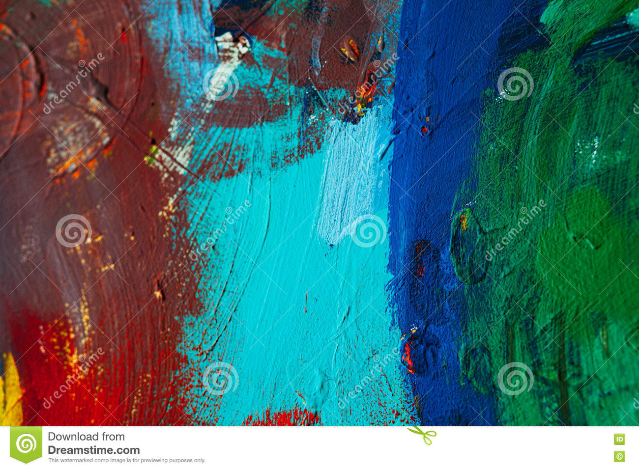 Modern Art Bilder Colored Paint Strokes Abstract Art Background Detail Of A Work