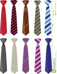 Colored Ties Illustration Royalty Free Stock Photo - Image ...