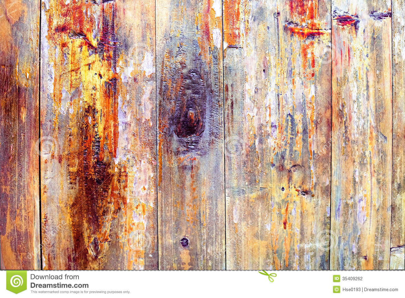 Old Wood Wallpaper Hd Colored Wood Peeling Paint Stock Photography Image 35409262
