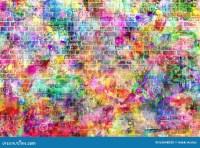 Colorful Grunge Art Wall Illustration, Urban Art Wallpaper ...