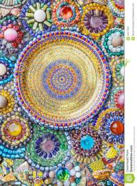 Colorful Mosaic Art Abstract Wall Background Stock Photo ...