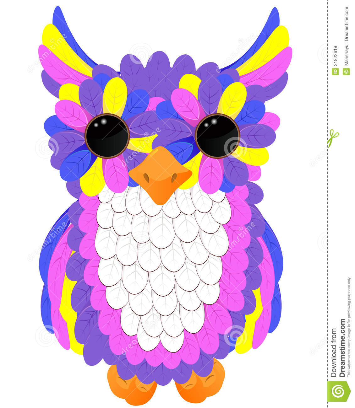 Colorful Pictures Of Owls Colorful Owl Images