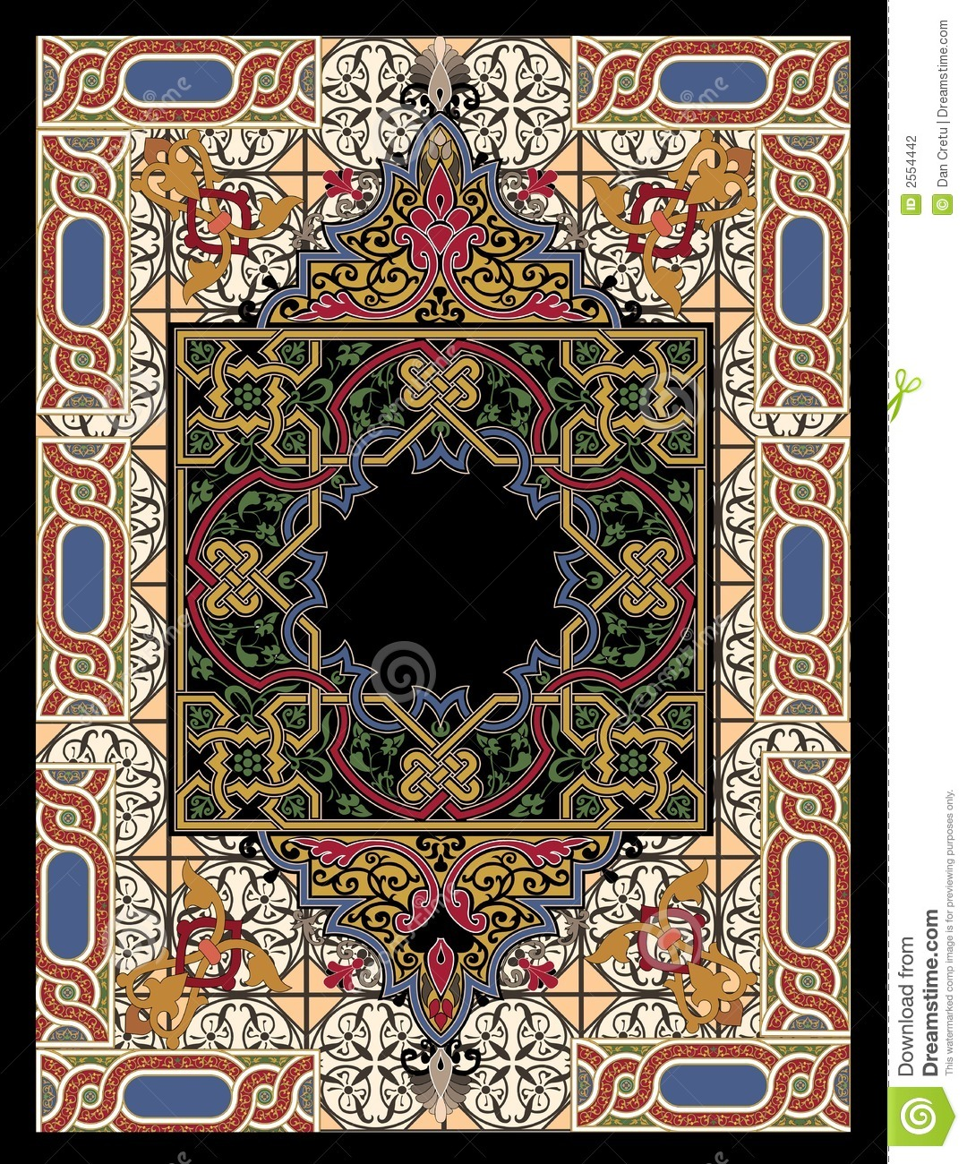 Teppich Knüpfen Muster Colorful Persian Rug Stock Photography - Image: 2554442