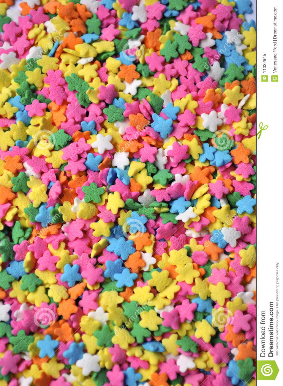 Cute Pastel Wallpaper For Iphone Colorful Star Sprinkles Stock Image Image Of Colorful