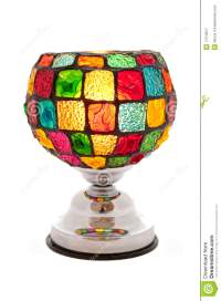 Colorful Table Lamp Royalty Free Stock Photography - Image ...