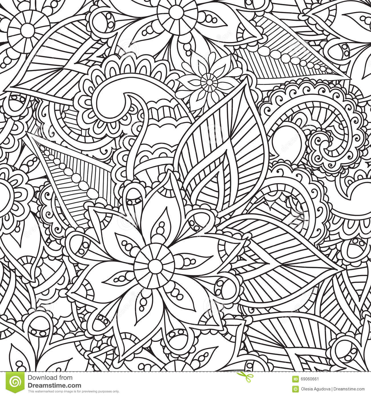 Hd Wallpaper Texture Fall Harvest Coloring Pages For Adults Seamles Henna Mehndi Doodles