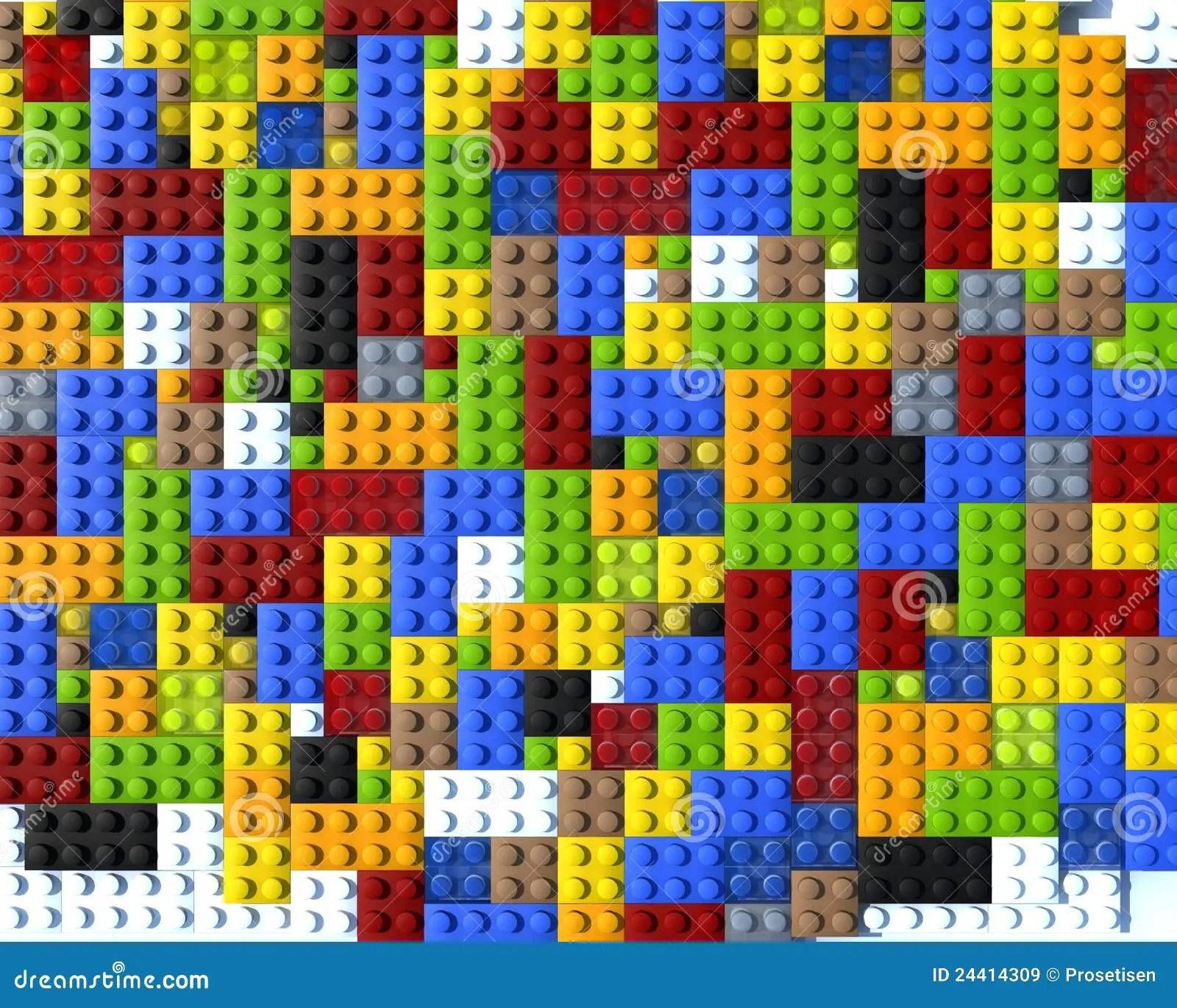Building Construction Wallpaper Hd Colour Lego Blocks Flat Stock Illustration Image Of Style