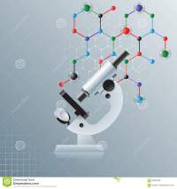 Computer Graphic, Template Science Background With ...