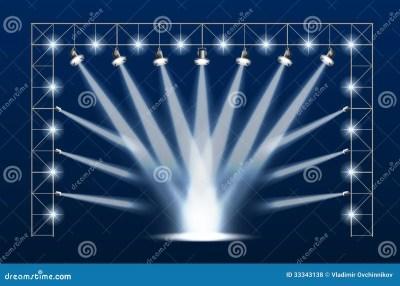 Concert scene stock photo. Image of nightlife, music - 33343138