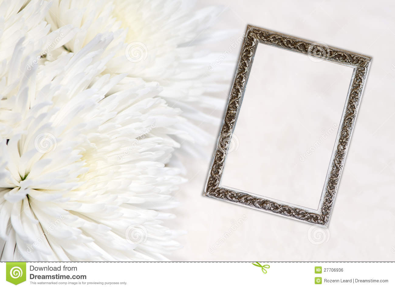 Silver Photo Frames Australia Condolences And Frame Royalty Free Stock Image Image