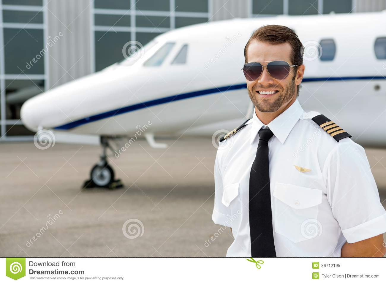 How To Be More Confident In Bed Confident Pilot Smiling Royalty Free Stock Photo Image