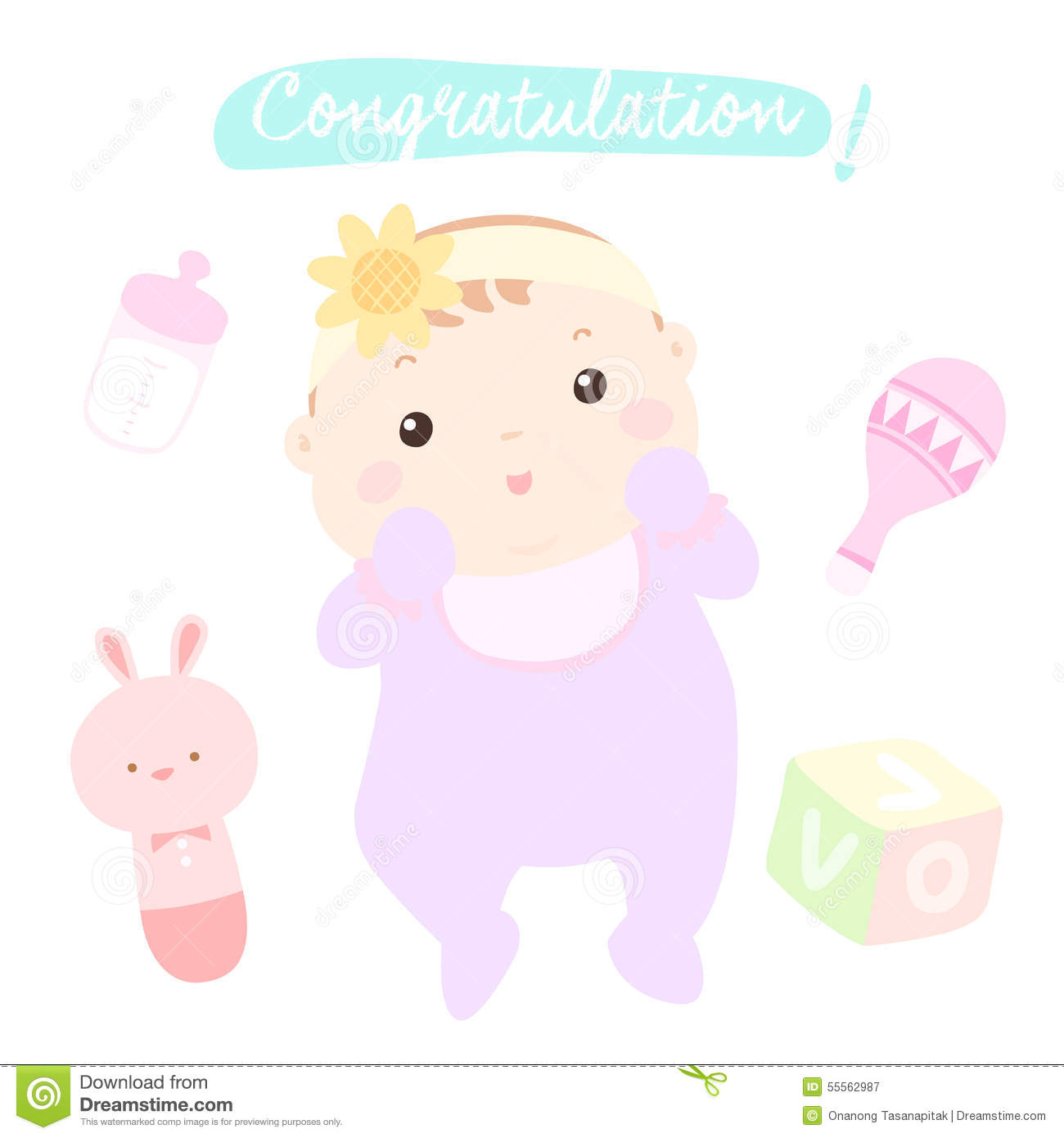 congratulation for a new baby girl