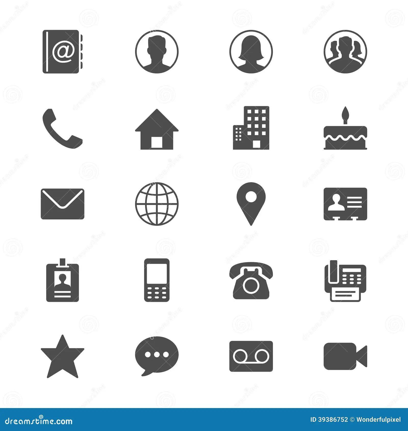 icone de telephone pour cv