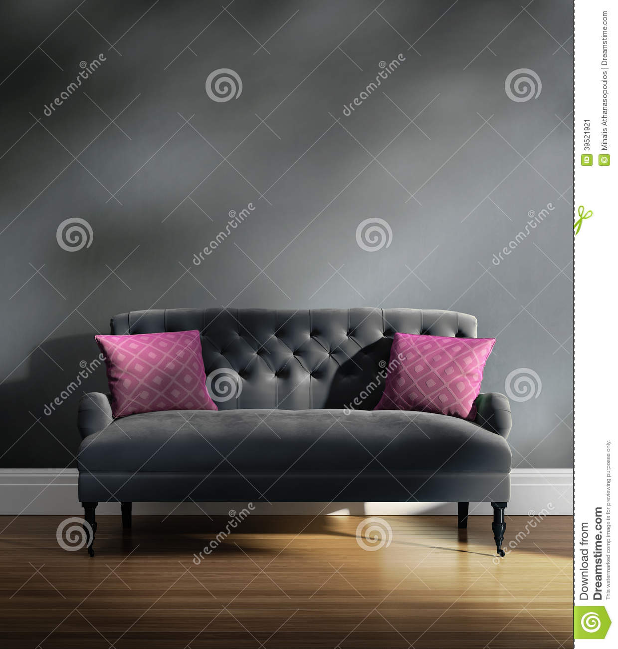 Sofa Design Royal Contemporary Elegant Luxury Grey Velvet Sofa With Pink