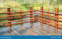 Wooden Deck Wood Outdoor Garden Patio Stock Photo - Image ...
