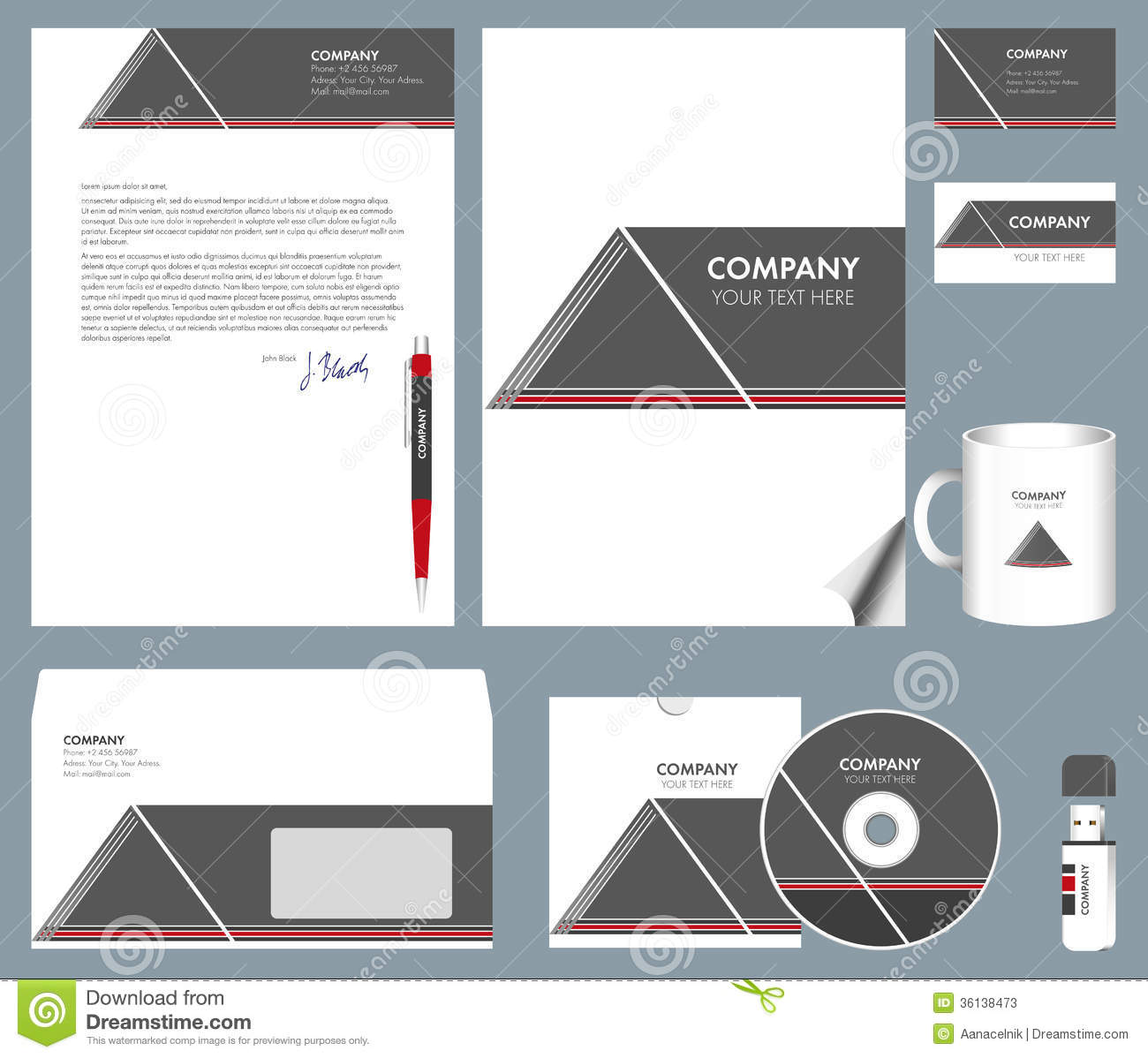 envelope template free download