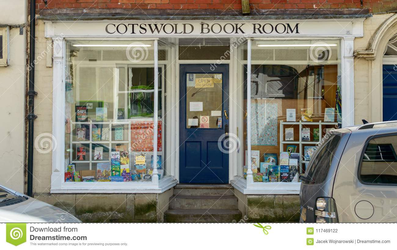 Aps Salon Cotswolds Book Room On Long Street Editorial Photography Image Of