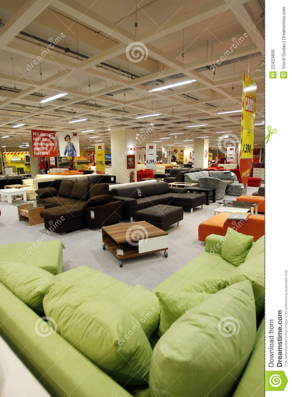 Sofas Kika Couches And Sofas Store Editorial Image Image Of Panoramic 22423800