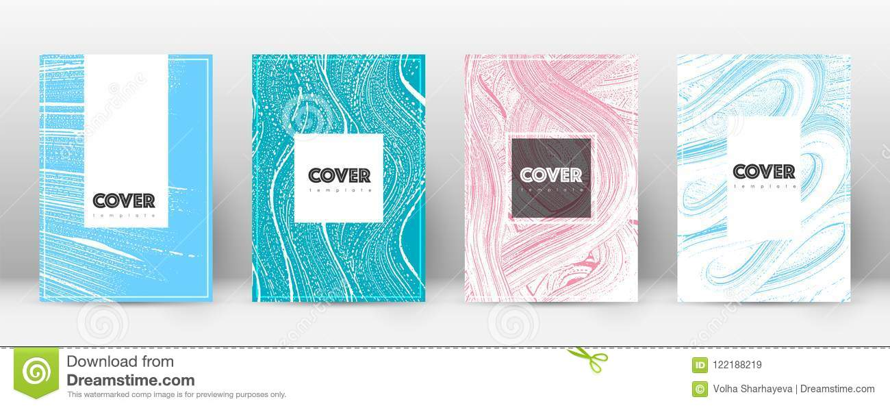 Cover Page Design Template Hipster Brochure Layout Captivating