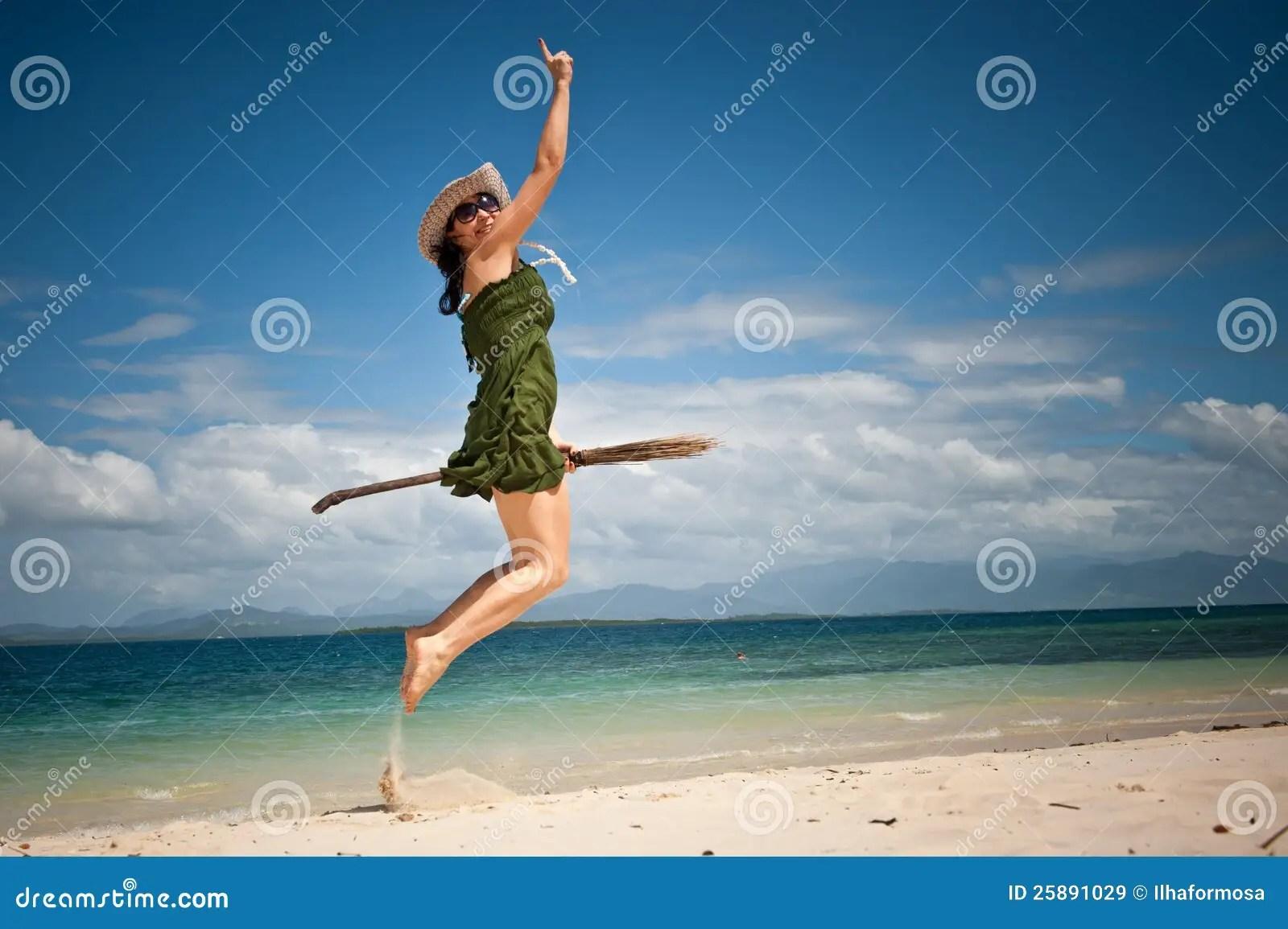 2 Asian Girls Wallpaper Drawing Creative Girl Happy Jump At Tropical Beach Royalty Free