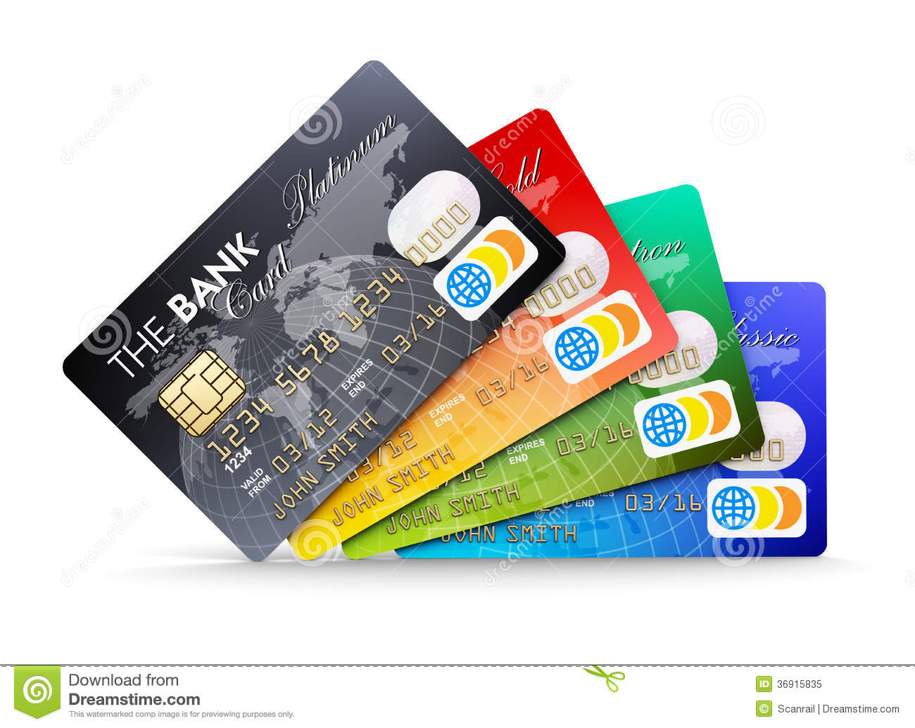 No Credit Check Financing Electronics Credit Cards Royalty Free Stock Photo Image 36915835
