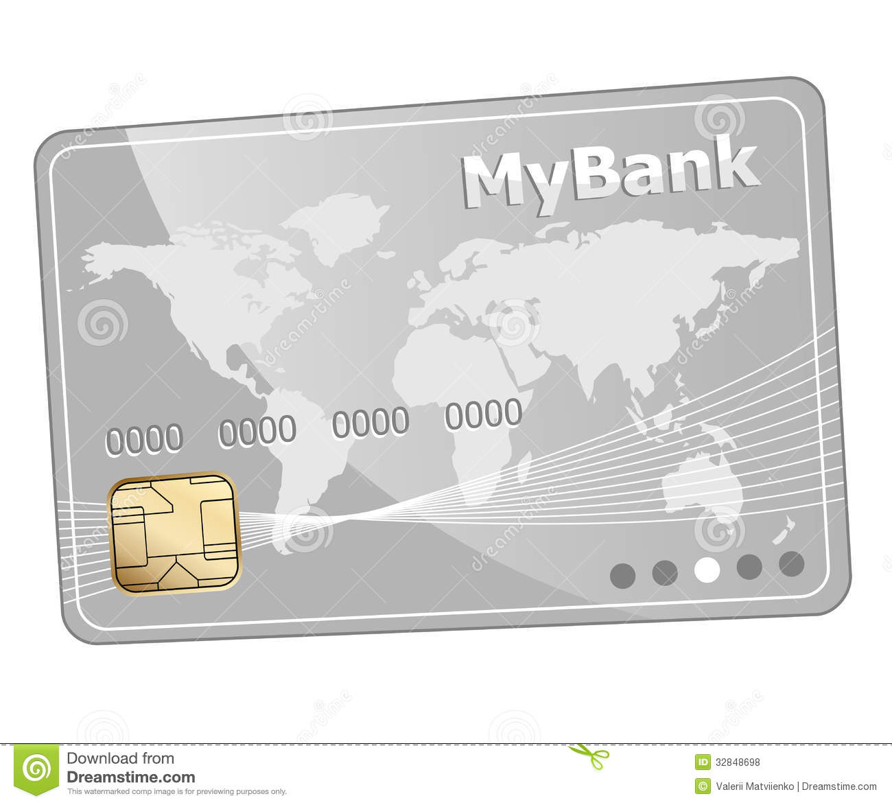 Plastikbank Credit Plastic Bank Card Icon Royalty Free Stock Photos