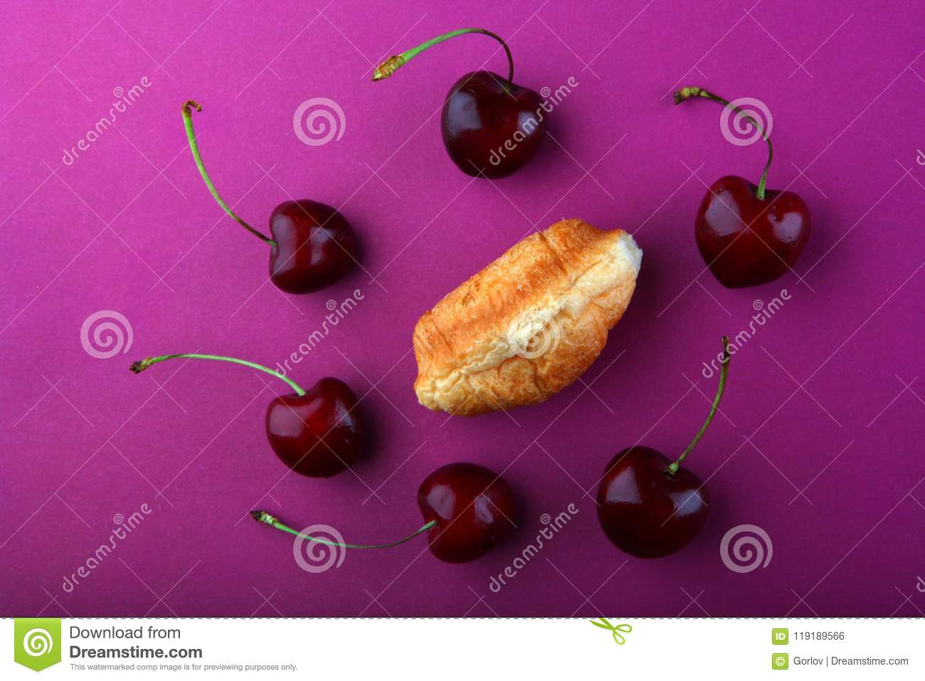 Mini Cuisine Studio Croissant Mini Studio Quality Light Stock Photo Image Of Cuisine