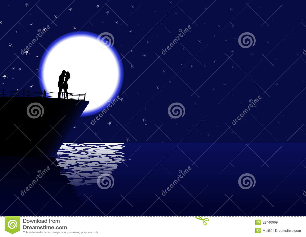 3d Couple Kissing Wallpapers Cruising Love Royalty Free Stock Images Image 32740969