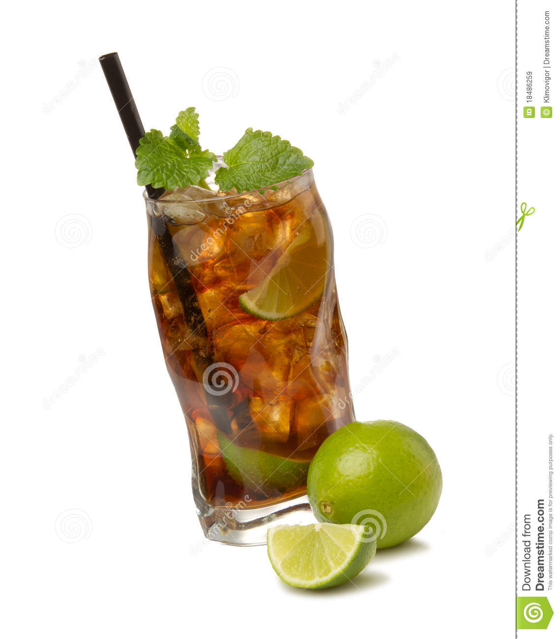 Cuba Libre Drink Cuba Libre Cocktail Royalty Free Stock Images Image