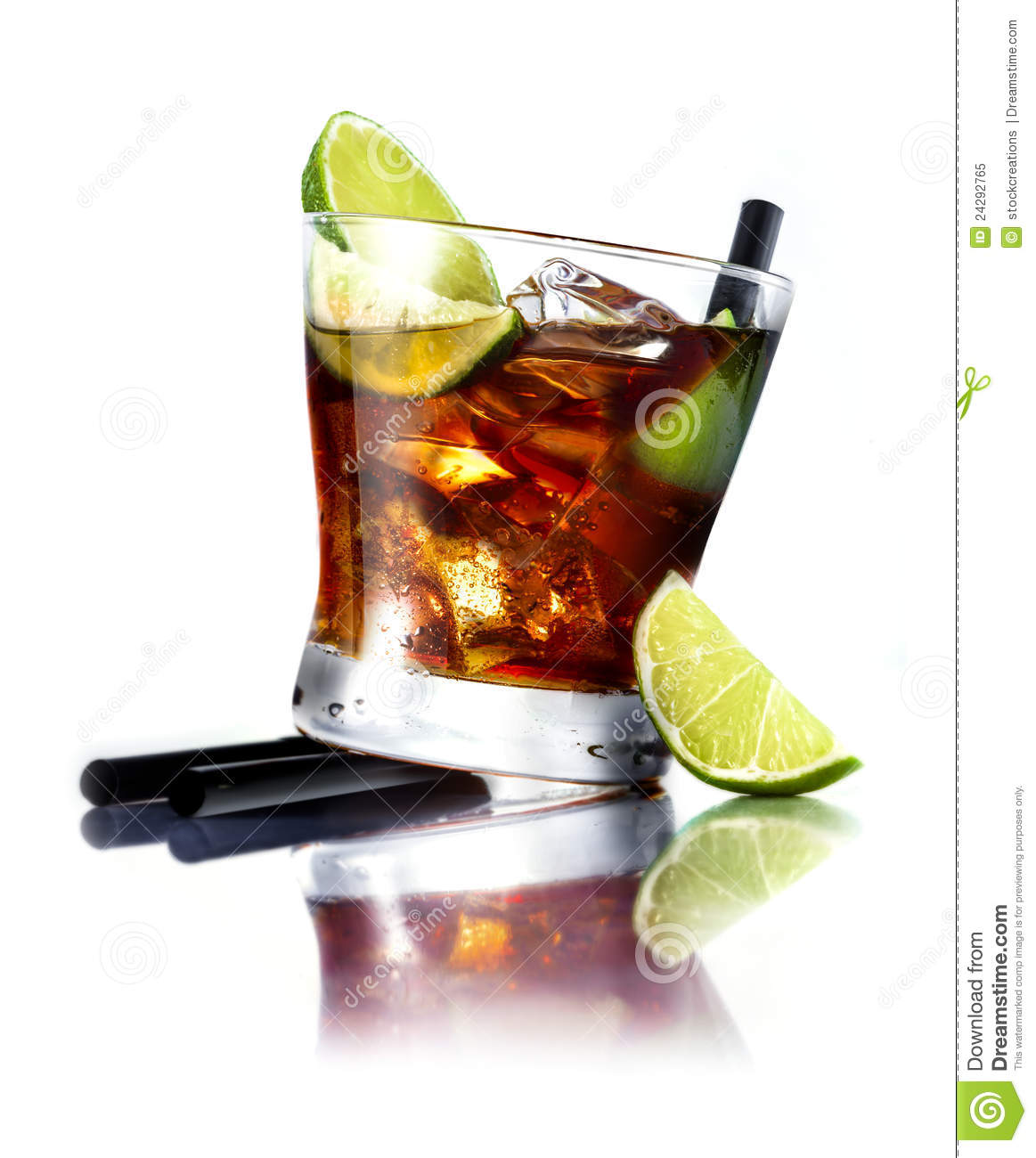 Cuba Libre Cocktail Cuba Libre Cocktail Royalty Free Stock Photo Image 24292765