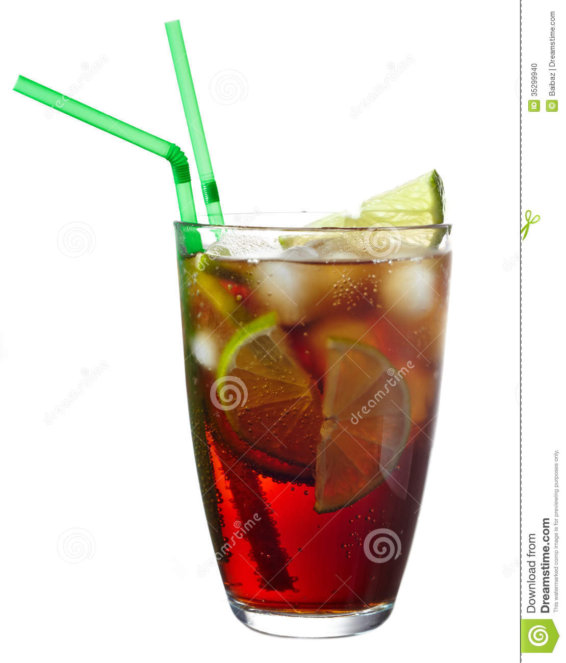 Cuba Libre Cocktail Cuba Libre Cocktail Stock Photo Image 35299940