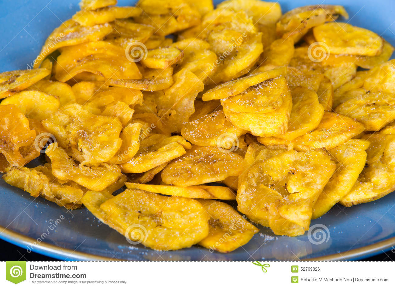 Cuisiner Le Plantain Cuban Cuisine Plantain Salty Chips Stock Photo Image Of Crispy