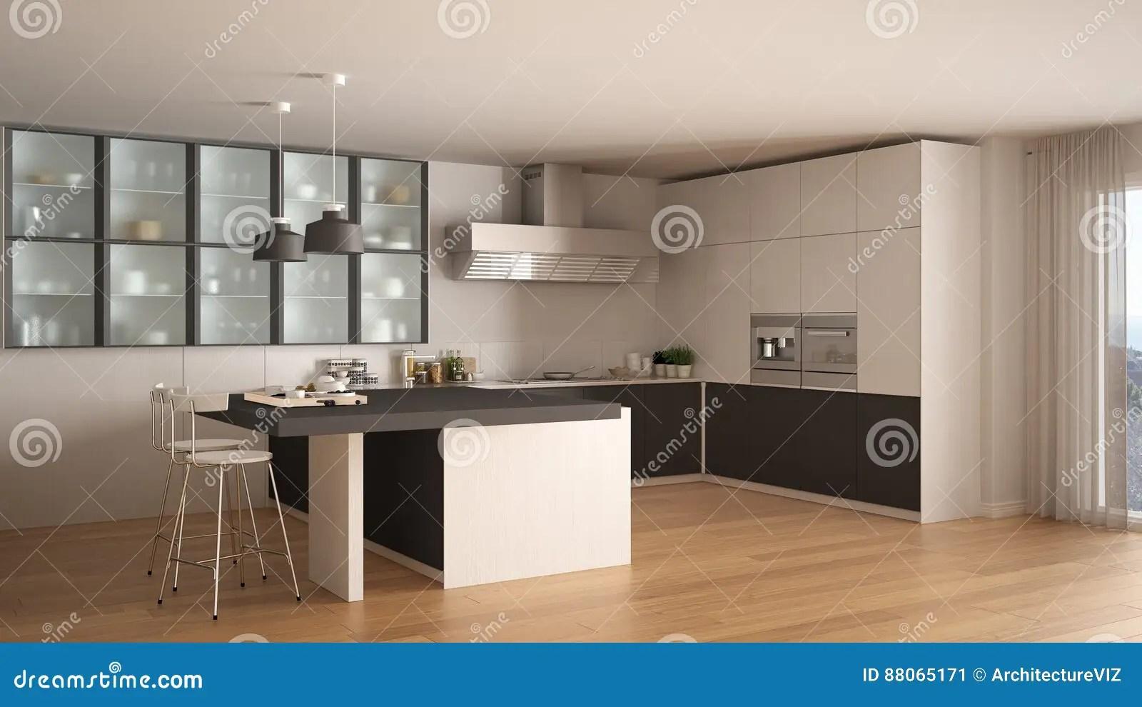 Cucina Bianca Nera E Grigia | Mattonelle Per Cucina Bianca Bagno ...