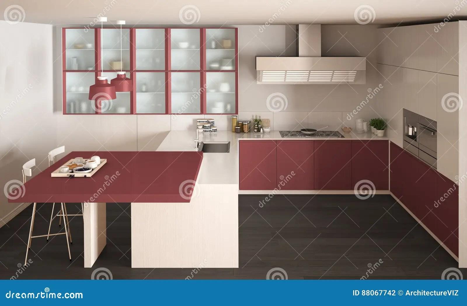 Cucina Bianca Grigia E Rossa | Cucina Bianca E Grigia Idee Di Design ...