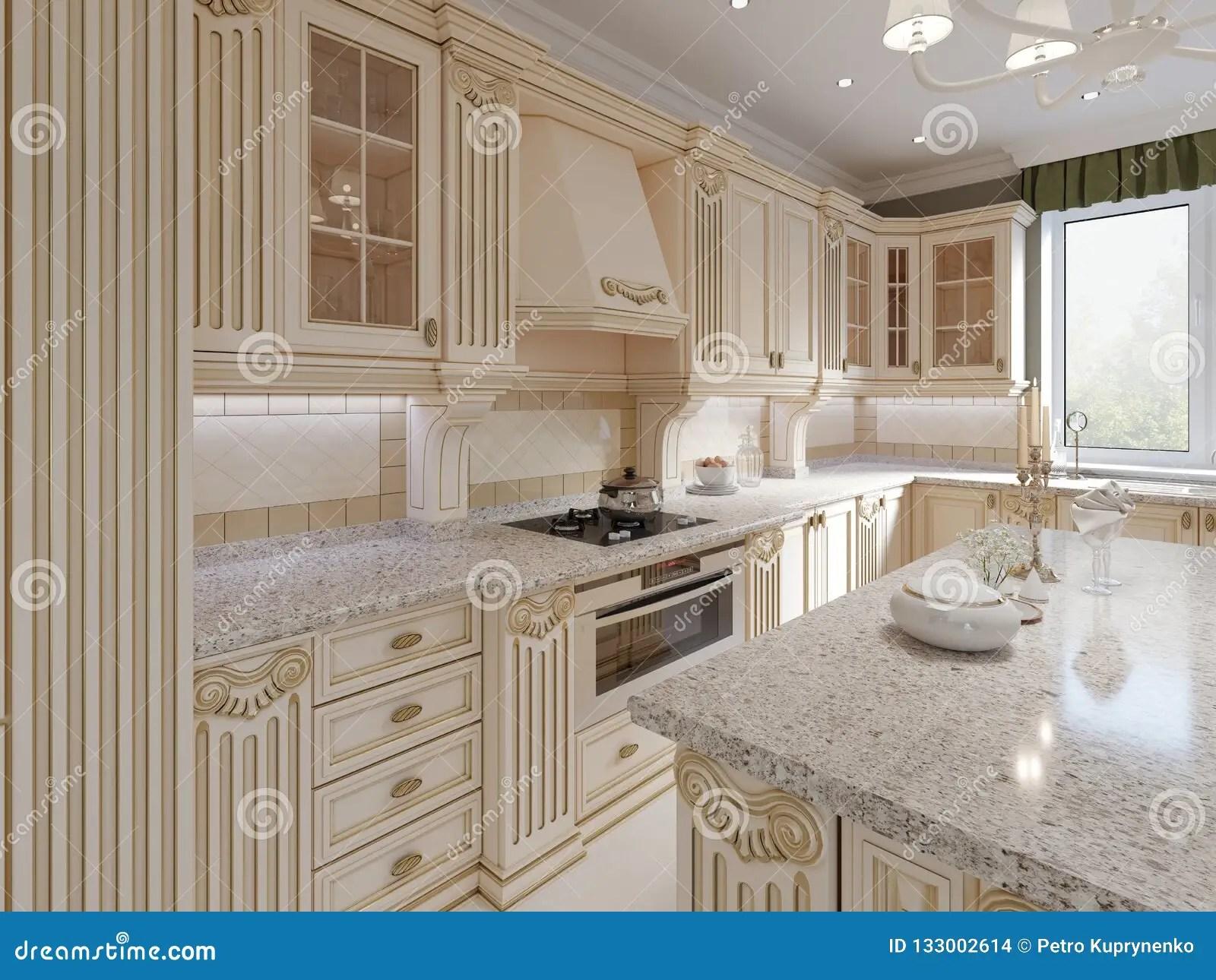 Cucina Classica Beige | Piastrelle Beige Cucina Moderna Finest ...