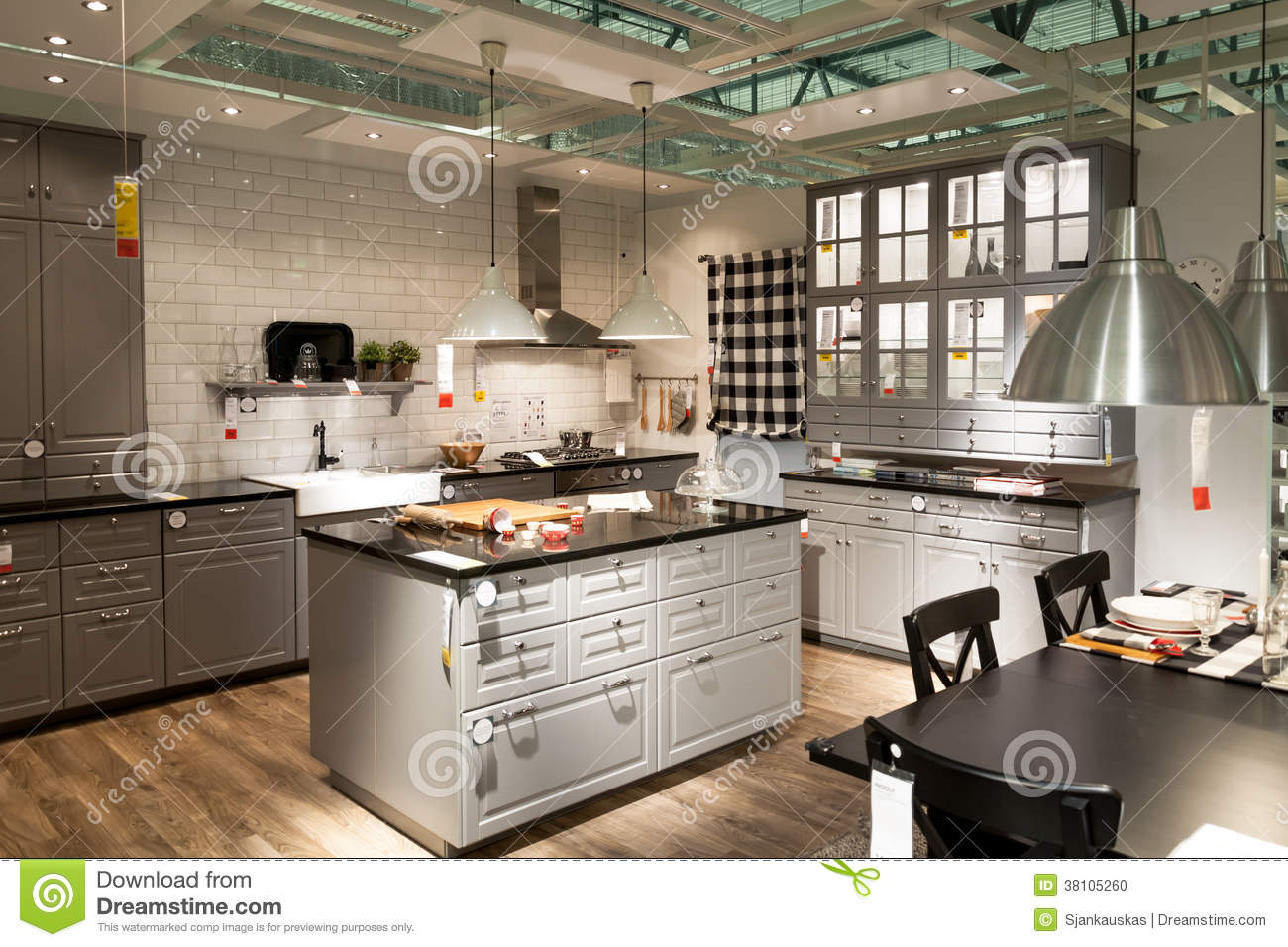 Cucina Ikea In Acciaio Cucine In Acciaio Per Casa Gorgeous Black And White Kitchen With