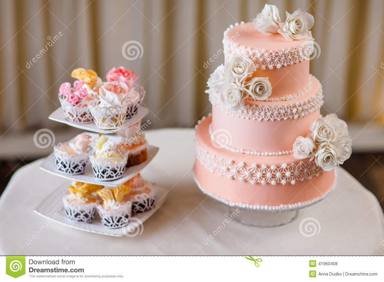 Decoration Gateau Originale Cupcakes With Individual Wedding Decoration With Wedding