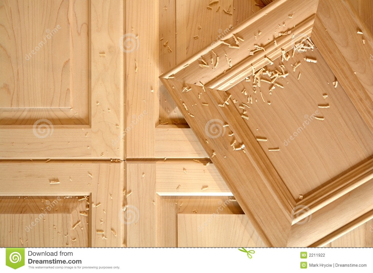 Furniture For Less Custom Cabinet Doors Stock Photo. Image Of Furniture