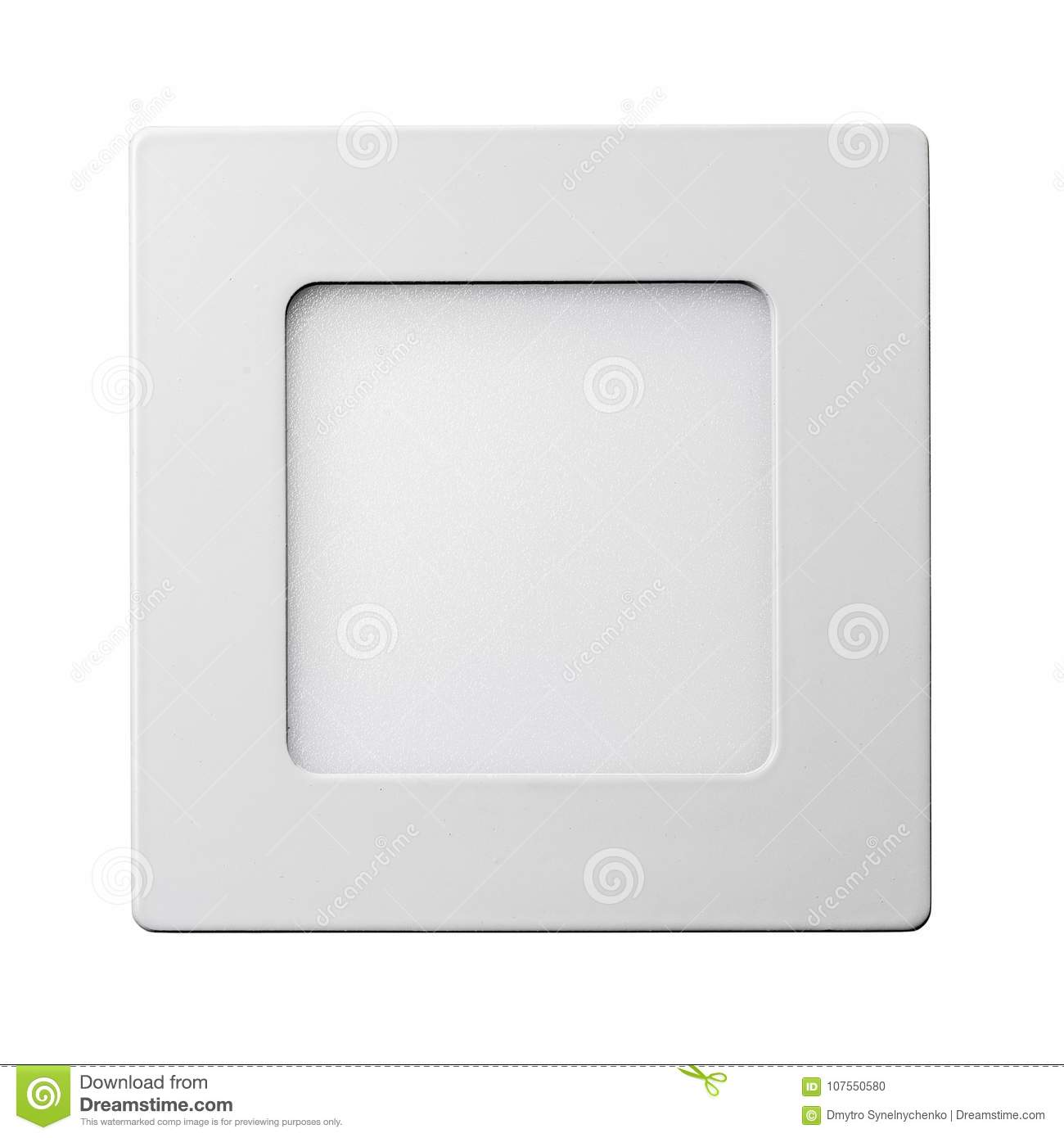 Led Verlichting Met Los Paneel Custom Led Lamp Panel Stock Photo Image Of Device 107550580