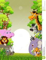 Cute Cartoon Forest Animals