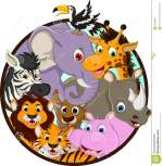 Cute Animal Wildlife Cartoon Stock Image Image