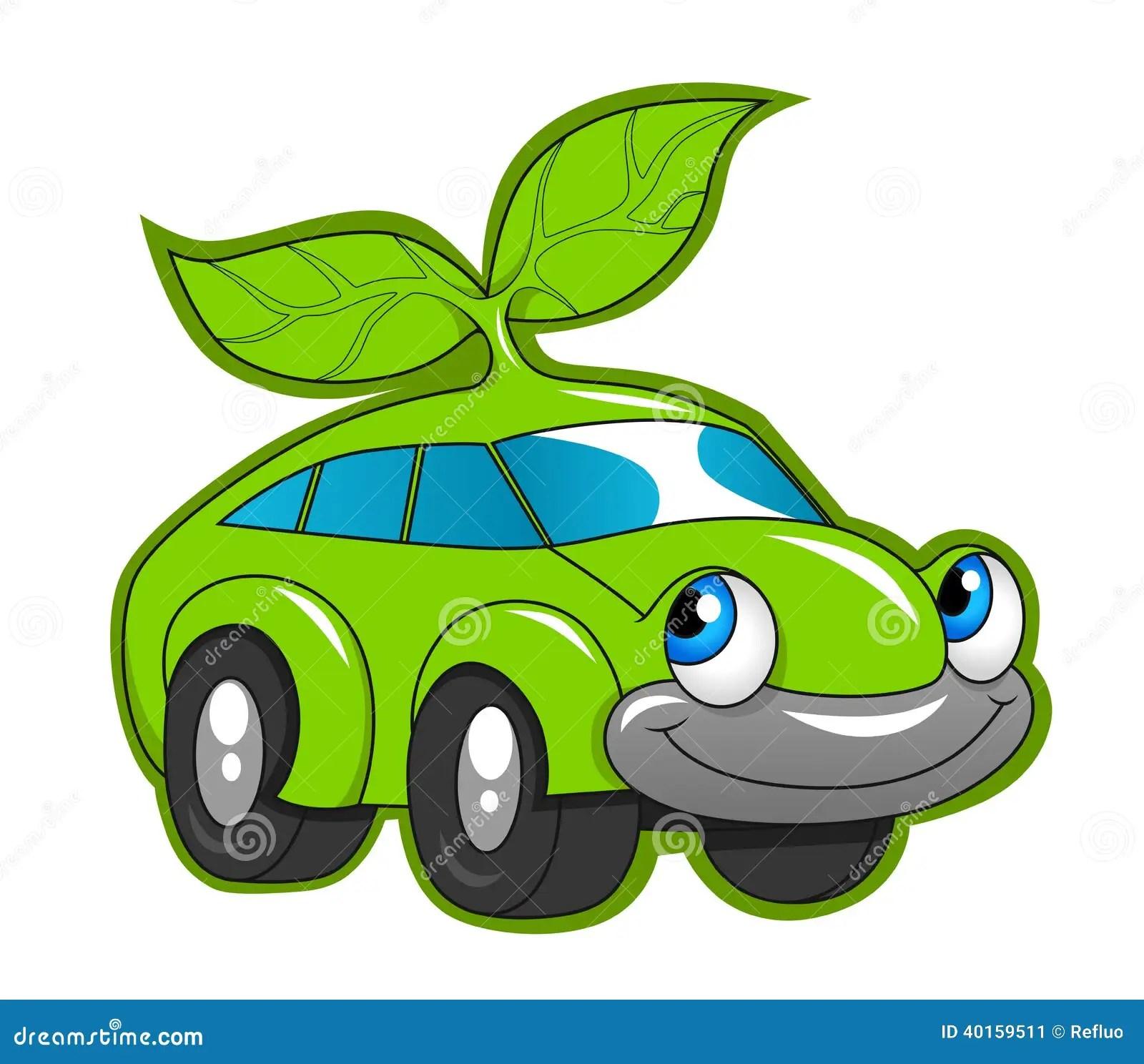 Max Power Cars Wallpaper Cute Eco Friendly Car Stock Vector Illustration Of
