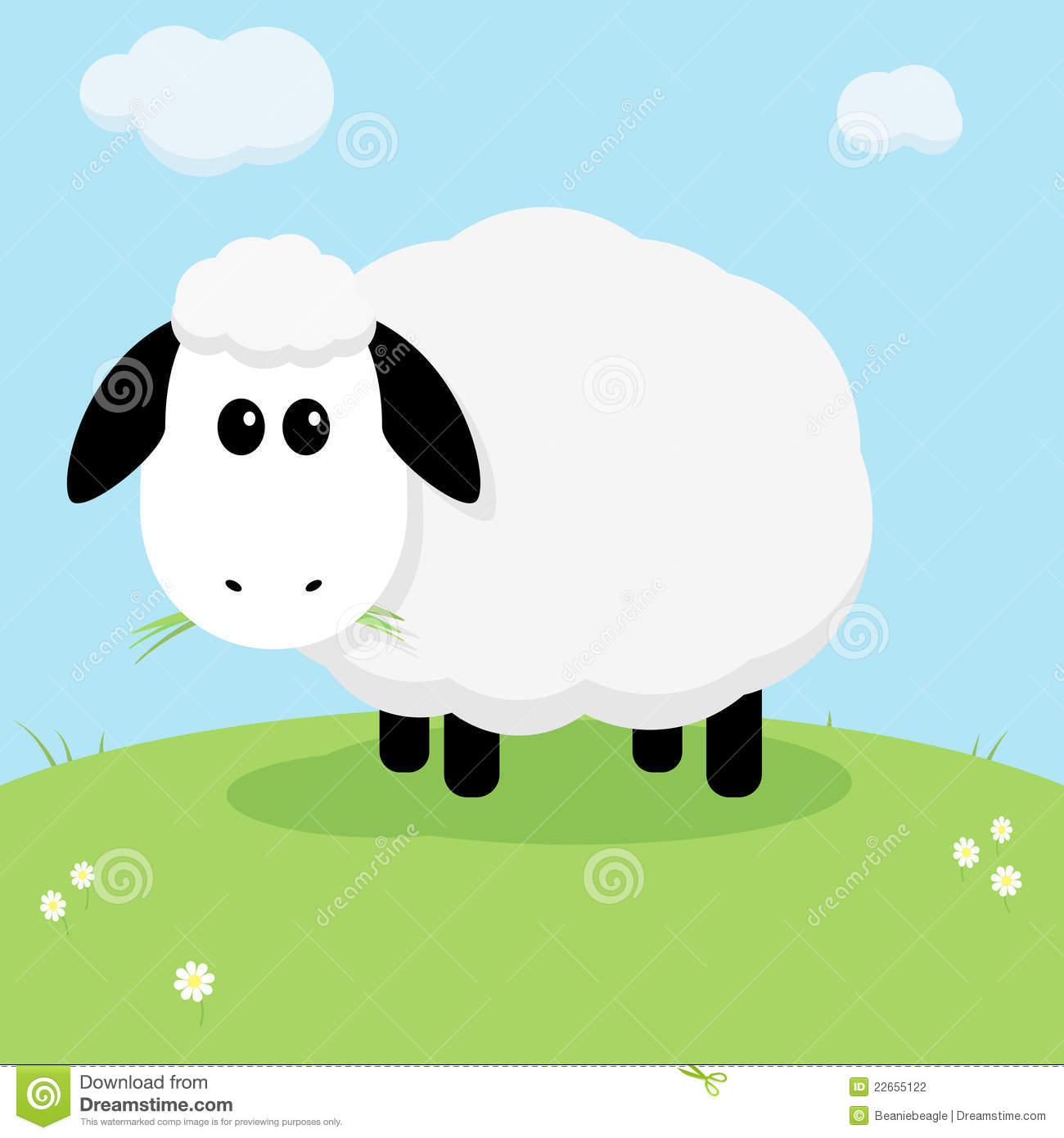 Cute Sheep Drawing Tumblr Cute Sheep Stock Vector Illustration Of Farm Gray Grass