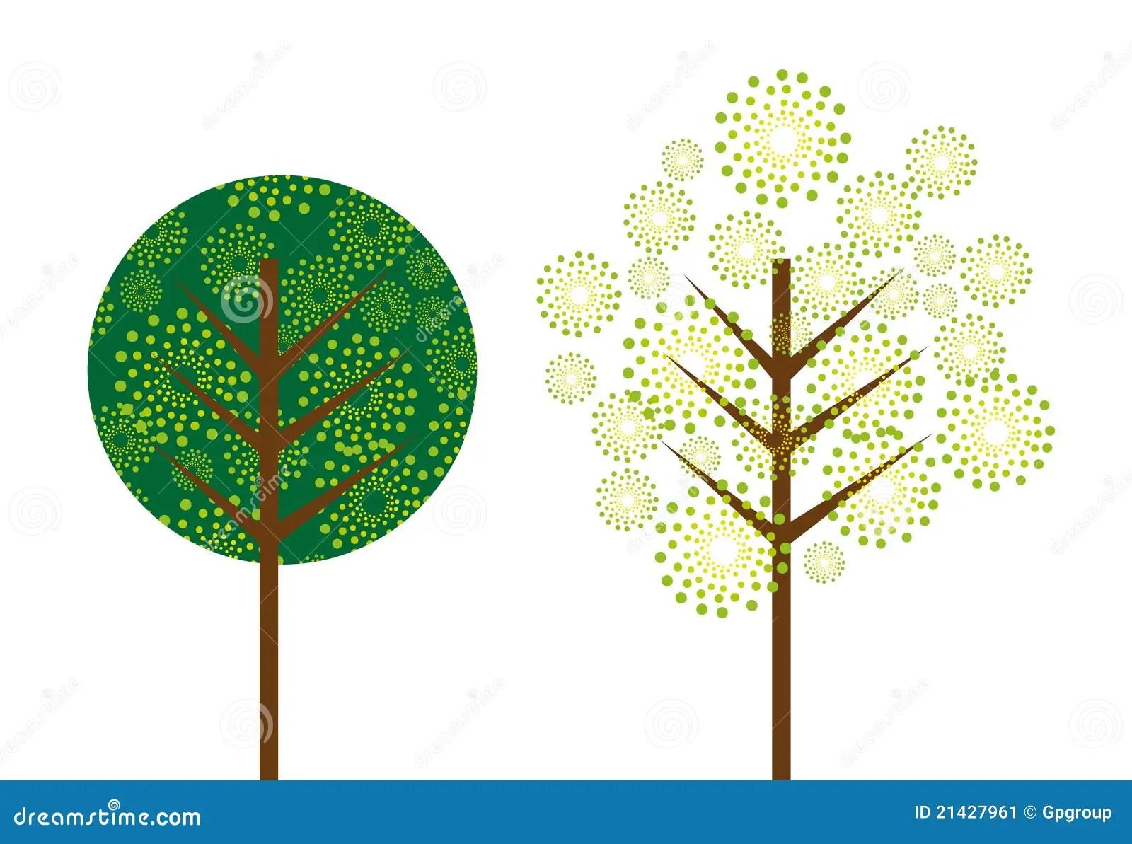 Free Fall Cartoon Wallpaper Cute Tree Stock Image Image 21427961