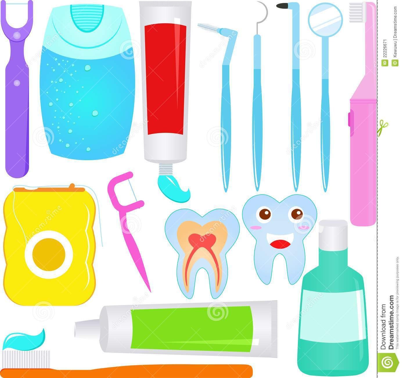 Cute Dental Wallpaper Cute Vector Dental Care Tooth Dentist Icons Stock