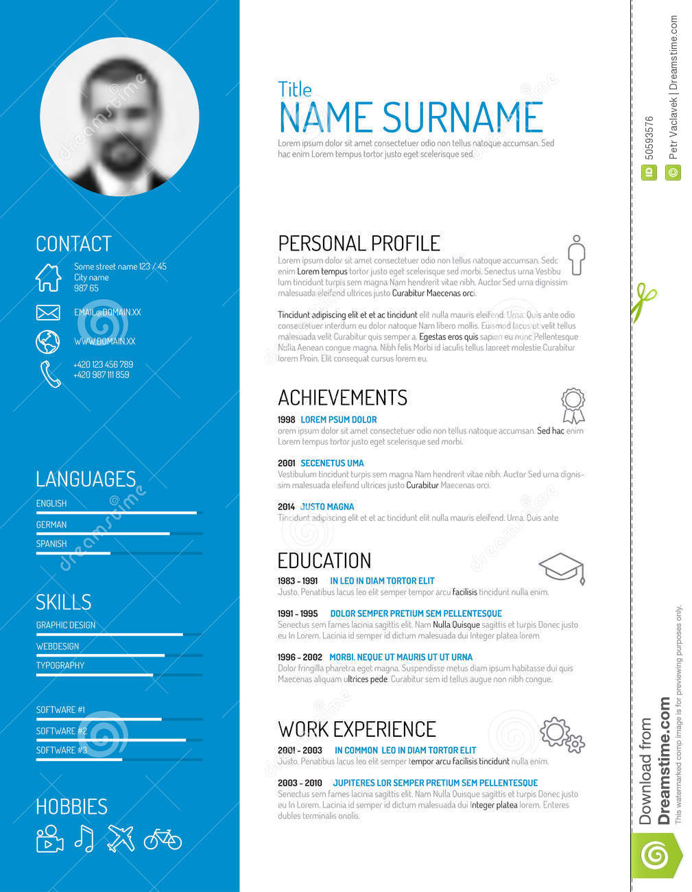 cv template pr cover letter resume examples cv template pr finance manager cv template dayjob vector mini st cv resume template mr no pr