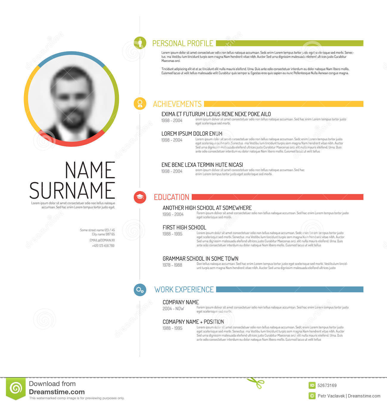 cv template pr resume builder cv template pr cv templates curriculum vitae template cv template vector mini st cv resume template mini stic